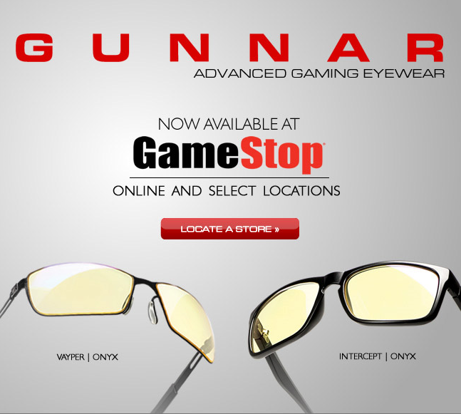 gunnar gamestop